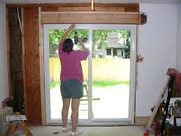 how to install a new door and frame replacing sliding glass doors new door with french