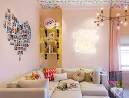 stylish lounge room with neon art on neon wall art nz with art prints design prints blog endemicworld colour lover s