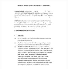 Contractor Confidentiality Agreements Classy 44 Confidentiality Agreement Templates Free Sample Example