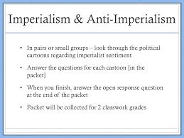 Imperialists Vs Anti Imperialists Venn Diagram