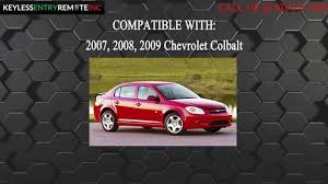 How To Replace Chevrolet Colbalt Key Fob Battery 2007 2008 2009 ...
