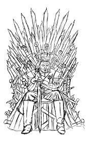 Game Of Thrones Coloring Book Pages Game Of Thrones Coloring Pages