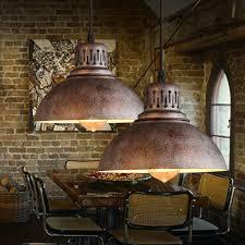 lighting fixtures industrial. Antique Pendant Light Retro Decorative Lamps Industrial Scrap Metal Designed European Hanging Lamp Lighting Decor-in Lights From Fixtures