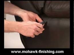 to repair cuts and holes in leather