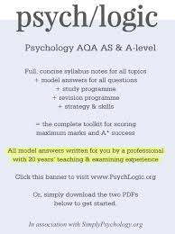 How To Revise A Paper How To Revise For Psychology A Level Simply Psychology