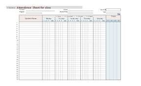 attandence sheet 38 free printable attendance sheet templates