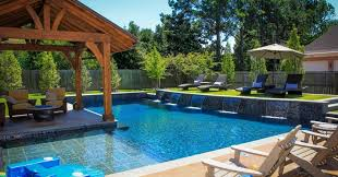 Impressive Backyard Pool Designs Extraordinary Custom Infinity Edge Swimming Design To Decorating
