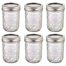 6 Pack BALL MASON Quilted Design Preserving Jars 240ml REGULAR ... & 6 Pack BALL MASON Quilted Design Preserving Jars 240ml REGULAR Mouth with  Recipe Insert Adamdwight.com