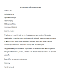 Sample Offer Letter 7 Free Documents In Pdf Doc