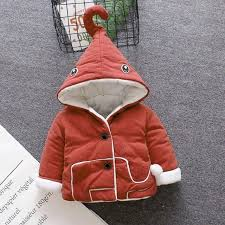 baby girl winter coat 2018 toddler winter jacket for boys clothes thick hooded warm cotton kids