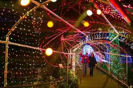 10 gardens that glitter with holiday lights garden destinations