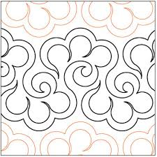 pantograph quilting patterns | Halcyon-quilting-pantograph-pattern ... & pantograph quilting patterns | Halcyon-quilting-pantograph-pattern-Lorien- Quilting. Adamdwight.com
