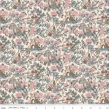 Jane Austen at Home SOPHIA C10010 100% Quilting Cotton fabric | Etsy