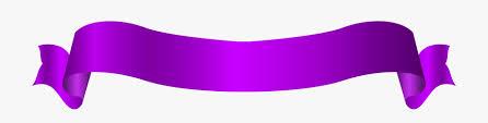 Purple Ribbon Banner Ribbon Clipart Long Ribbon Purple Ribbon Banner 360485