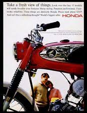 vintage honda motorcycle ads. 1965 honda s90 red motorcycle photo vintage print ad ads