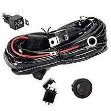 12v led switch box eyourlife 12v 40a off road led light bar on off power switch relay wiring harness
