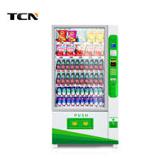 Vending Machine Coin Changer Gorgeous China Beverage And Snacks Automatic Vending Machine With Bill Reader