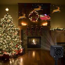 Outdoor Led Christmas Projection Lights Yunlights Christmas Lights Projector Santa Reindeer Led