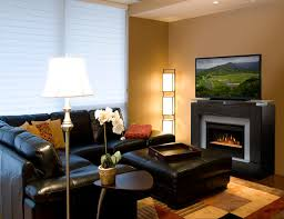 electric fireplace ideas for living room. gorgeous living rooms contemporary-family-room electric fireplace ideas for room t