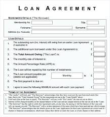 Private Loan Agreement Form – Pitikih