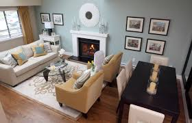 ... Living Room, Living Room Arrangements And Kitchen Living Living Dining  Room Layout: Marvellous living ...
