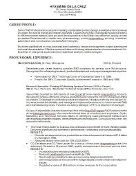 Resume Format Guide Best 48 Samples Of Professional Resume Formats You Can Use In Job Hunting