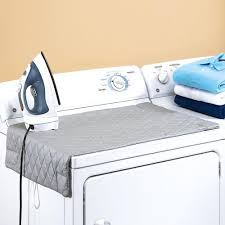Amazon.com: Houseables Ironing Blanket, Magnetic Mat Laundry Pad ... & Amazon.com: Houseables Ironing Blanket, Magnetic Mat Laundry Pad, 48x85cm,  Gray, Quilted, Washer Dryer Heat Resistant Pad, Iron Board Alternative  Cover: ... Adamdwight.com