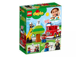 Lego Duplo Light And Sound Fire Truck Lego Fire Truck