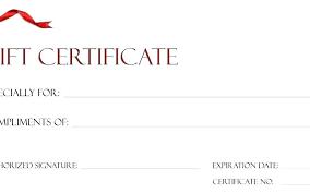 Custom Gift Certificate Templates Free Custom Gift Certificate Printing Online Create A Card Template