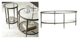 glass coffee and end tables brass and glass coffee table from crate and barrel glass coffee