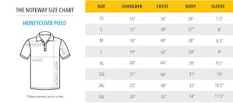 Polo Shirt Size Chart India Rldm