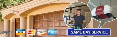 fast service garage door repair