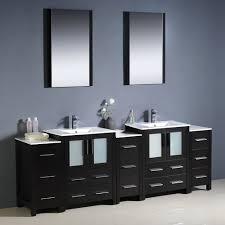 country bathroom double vanities. fresca bath fvn62-72es-uns torino 84\ country bathroom double vanities