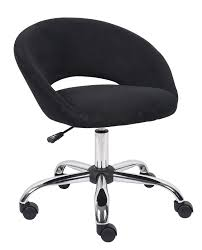 swivel vanity stool with casters. Modern Black Velvet Swivel Vanity Chair With Hoop Backrest Beautiful Wheels To Stool Casters