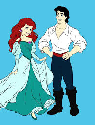 Small Picture Ariel and Prince Eric by GothicBellydancer on DeviantArt