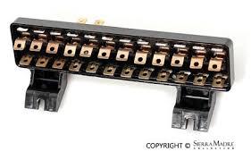 porsche parts battery fuse fuse box 12 fuse 914 70 76