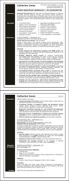 Sample Resume For Human Resources Generalist Resource Hr Form ~ Sevte
