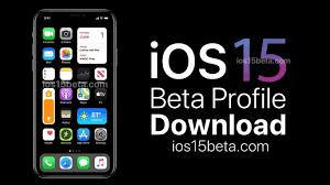 iOS 15 Beta Profile Download - iOS 15 Beta Download