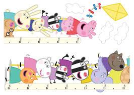Peppa Pig Self Adhesive Wall Stickers Departments Diy At