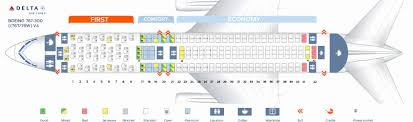 76w aircraft seating luxury seat map boeing 767 300 delta airlines best seats in plane