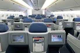 delta airlines boeing 767 300er businesselite cabin in flight entertainment system
