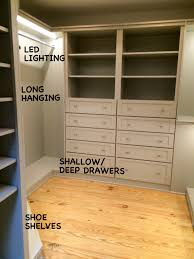 closet accessories mary sherwood lifestyles custom cabinetry led lighting sensor