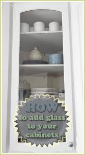 Diy glass cabinet doors Cut Provident Home Design How To Put Glass In Cabinet Doors
