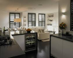 living room small open plan kitchen living room ideas uk small
