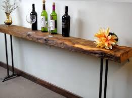 narrow sofa table. Reclaimed Wood Sofa Table Amazing Narrow Console Accent Long S