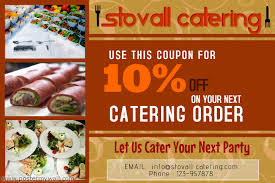 Catering Business Flyer Template Postermywall