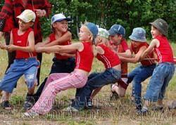 Подвижные игры для детей начальных классов ФизкультУРА Подвижные игры для детей