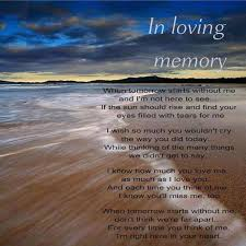 In Remembrance Quotes Of A Loved One