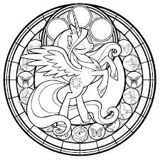 Stained Glass Cross Coloring Page Stained Glass Cross Coloring Page