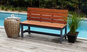 Small Picture How To Make A Wooden DIY Garden Bench Bunnings Warehouse